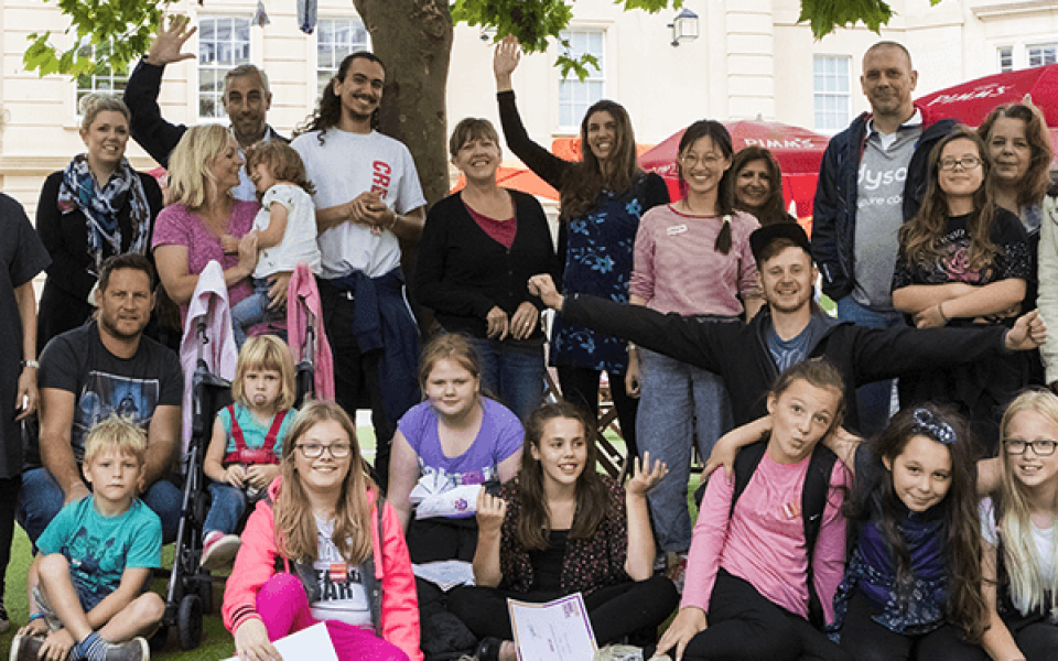 Create's multi-arts project for Bath young carers