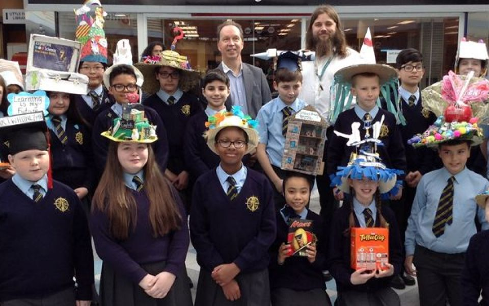St. John's Catholic School Easter Hat Parade at Surrey Quays
