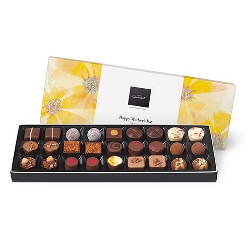 Box of chocolates from Hotel Chocolat