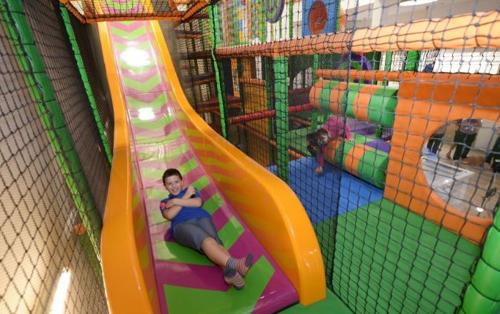 Enjoy Rock Up Whiteley's soft play for the little ones