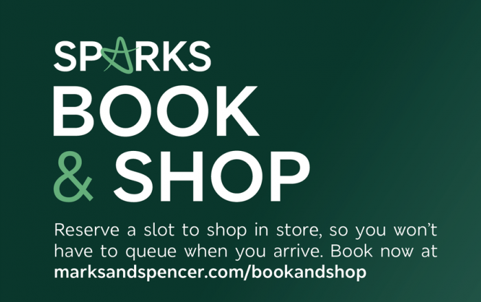 Book & Shop with Sparks