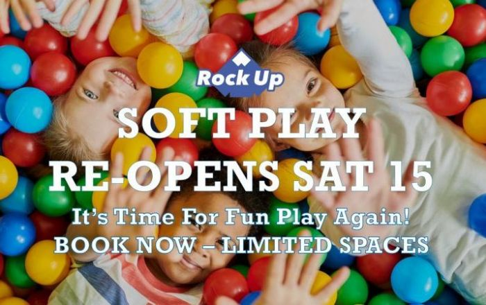 Rock Up | Soft Play Now Open