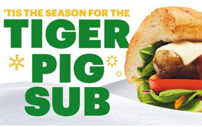 The 'Tiger Pig' Sub has landed at Subway