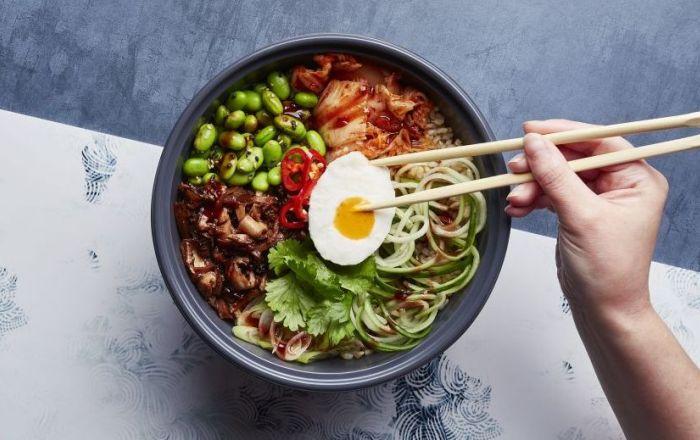 vegan dish from wagamama