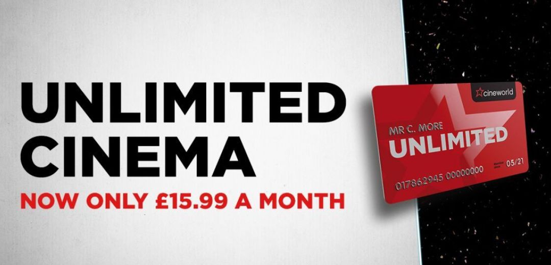 Unlimited Cinema for £15.99 a month